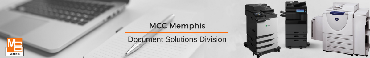 MCC Memphis Document Solutions Header